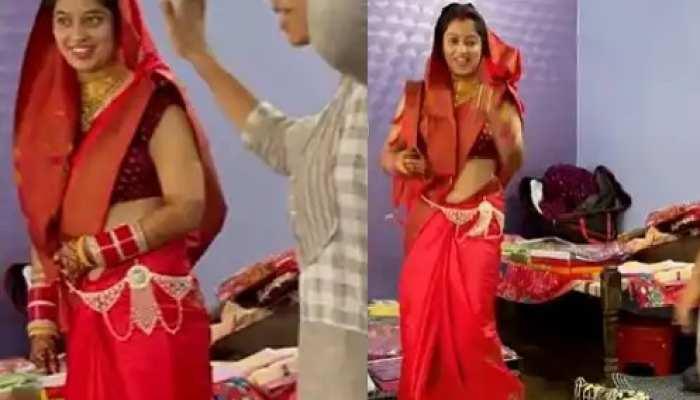 हरियाणवी गाने पर नई दुल्हन ने ननद संग किया जबरदस्त डांस, खूब देखा जा रहा है वीडियो