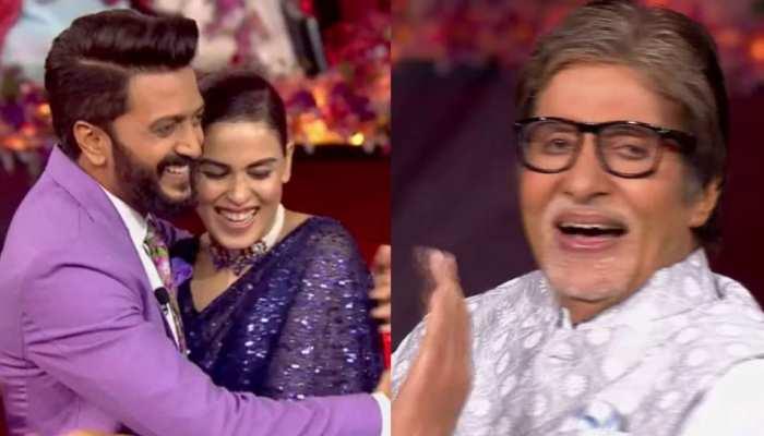 Amitabh Bachchan की वजह से हुई Riteish Deshmukh और Genelia D'Souza की शादी