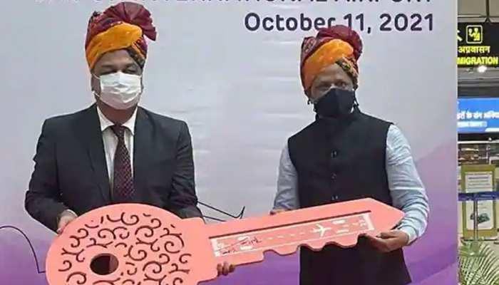 अडानी ग्रुप ने 50 साल की लीज पर लिया जयपुर इंटरनेशनल एयरपोर्ट, सरकार ने दी मंजूरी