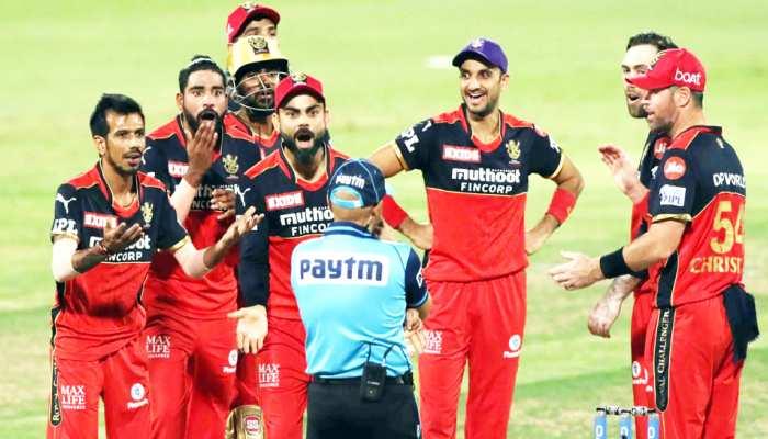 IPL 2021: अंपायर के साथ बदतमीजी पर उतारू हुए विराट कोहली, इस बात को लेकर हुआ बवाल