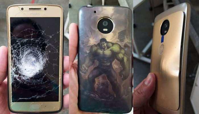 Motorola के Smartphone ने 'छाती' पर खाई गोली और मालिक को बचाया, जानकर लोगों के उड़े होश