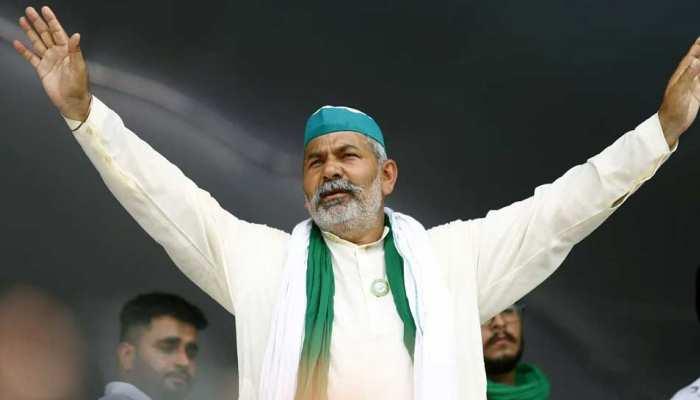 राकेश टिकैत का बड़बोलापन, कहा- ''किसानों के लिए तीनों कानून काले, देश के लिए मोदी काला''