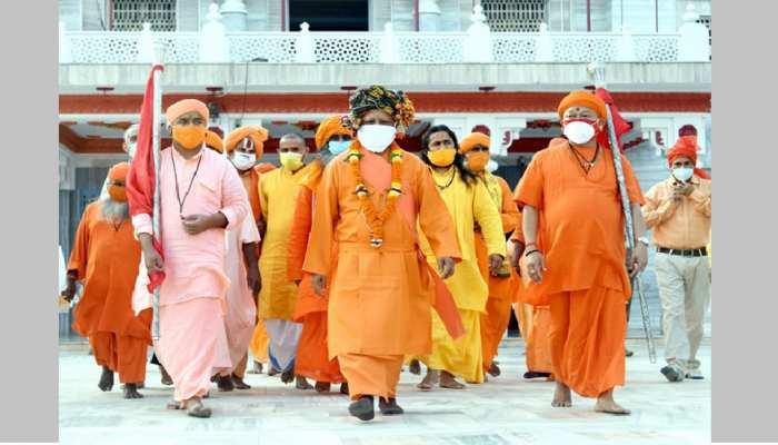 गोरखपुर: धूमधाम से निकलेगी गोरक्षपीठाधीश्वर की शोभायात्रा, प्रभु श्रीराम का तिलक-पूजन करेंगे CM योगी