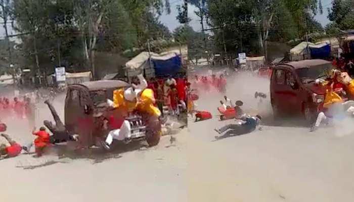 जशपुर हादसा: घटना स्थल पर लोगों का प्रदर्शन, बीजेपी ने कांग्रेस पर साधा निशाना