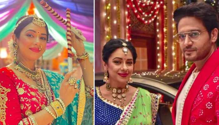 Anupama Spoiler Alert: गरबा की धुन पर रोमांटिक होंगे Anuj और Anupama! PHOTOS ने खोला राज