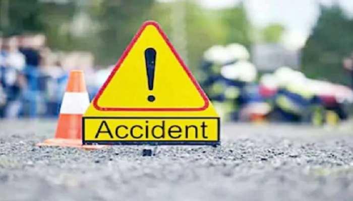जौनपुर में सड़क हादसा, ऑटो और टेलर की जोरदार टक्कर में एक युवक की मौत, 7 लोग गंभीर घायल