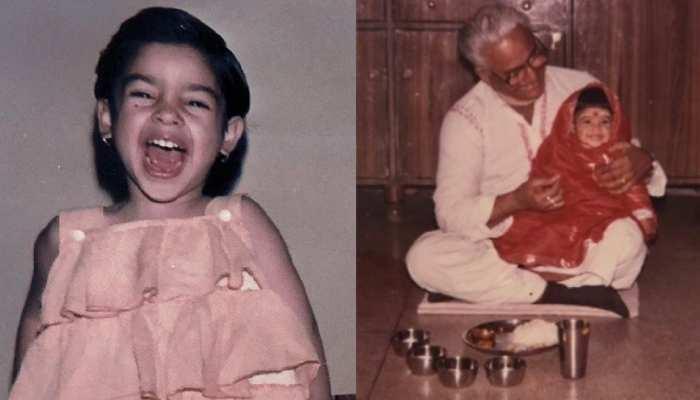 खिलखिला के हंसने वाली इस क्यूट बच्ची को पहचान पाए आप, The Kapil Sharma Show की जान है ये एक्ट्रेस