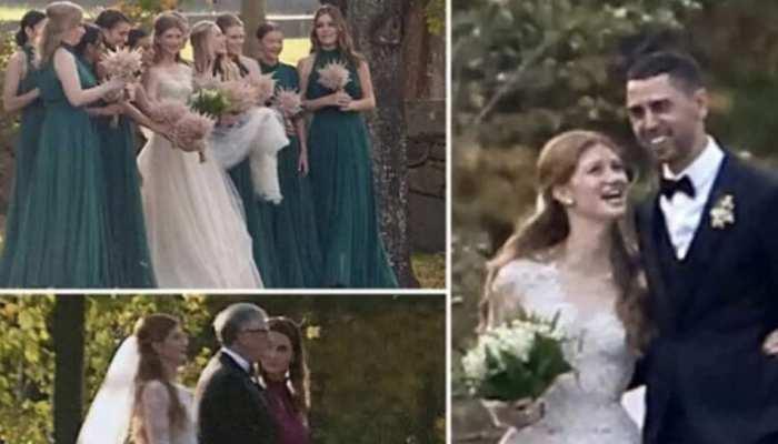 बिल गेट्स की बेटी को मिला हमसफर, घुड़सवार से रचाई शादी