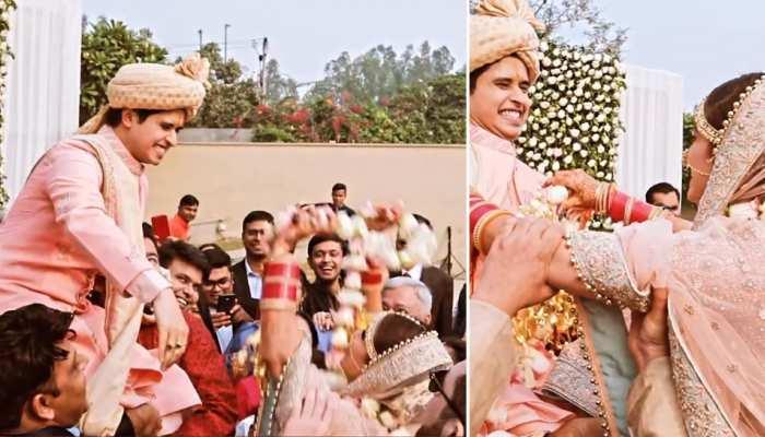 Wedding News: दूल्हे ने वरमाला पहनने से कर दिया मना, फिर जिद्दी दुल्हन ने ऐसे निकाली हेकड़ी