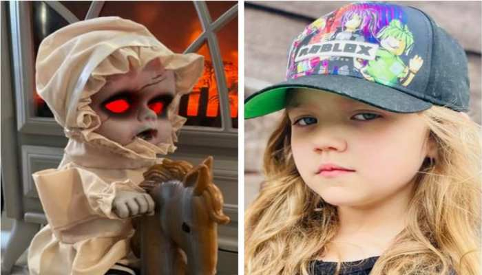 Weird News mother scared after seeing her daughters Horrible toy which is looking like skeleton