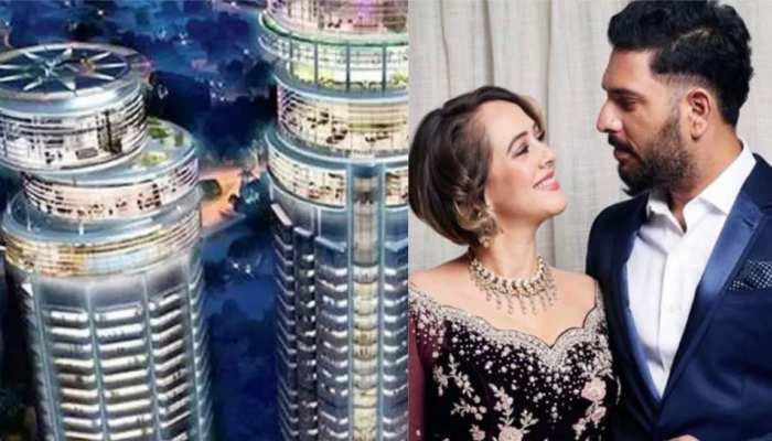Yuvraj Singh 64 crore luxury apartment is more costlier than Virat Kohli