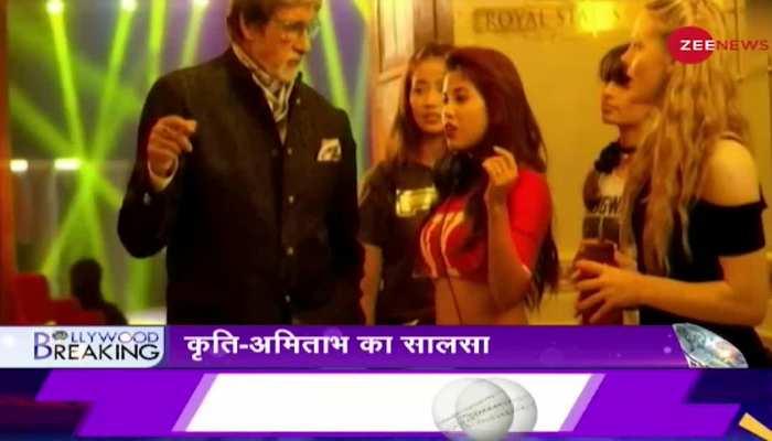 कौन बनेगा करोड़पति के 13वें एपिसोड में अमिताभ बच्चन, कृति सेनन आये नज़र