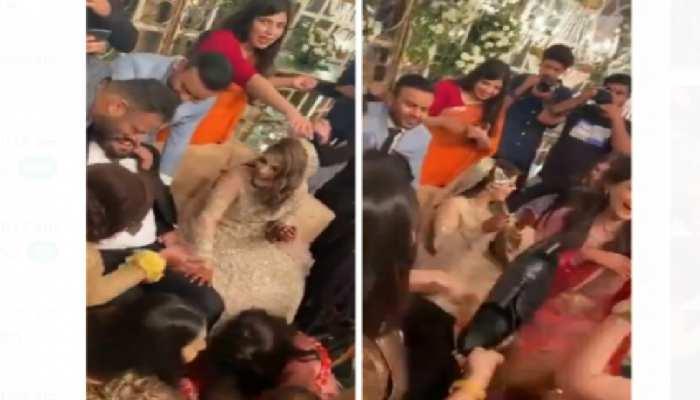 Jija Sali News: 4 लोगों ने मिलकर दूल्हे को पकड़ा, इतने में सालियों ने कर दिया कांड