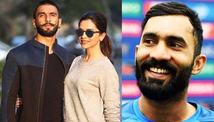 रणवीर-दीपिका नई IPL टीम खरीदने की रेस में, दिनेश कार्तिक ने यूं लिए कपल के मजे