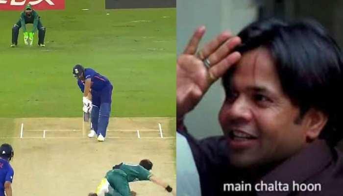 पाकिस्तान के खिलाफ रोहित शर्मा का फ्लॉप शो, ट्विटर पर फैंस ने जमकर लगाई क्लास