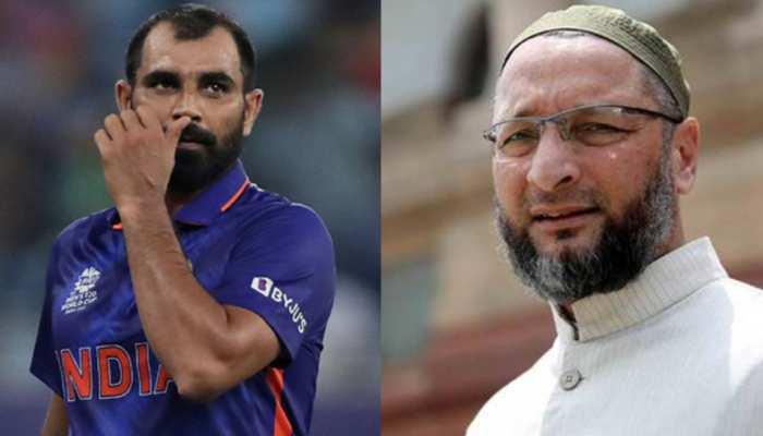 पाकिस्तान से हार के बाद ट्रोल हुए शमी, बचाव में उतरे ओवैसी ने दिया ये बयान