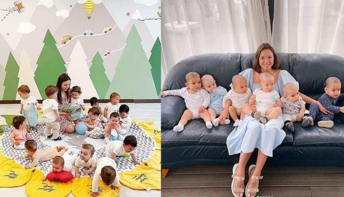 महज 24 साल की उम्र में 21 बच्चों की मां बनी ये महिला, काम पर रखी हैं 16 नैनी
