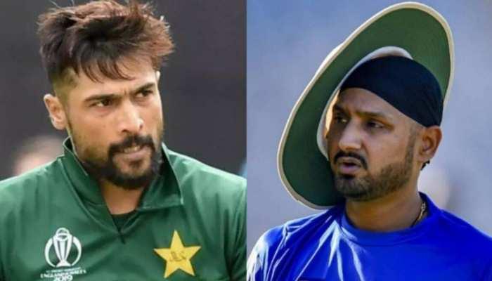 हरभजन और मोहम्मद आमिर के बीच ट्विटर पर भयंकर युद्ध, भज्जी बोले- चल फिक्सर दफा हो