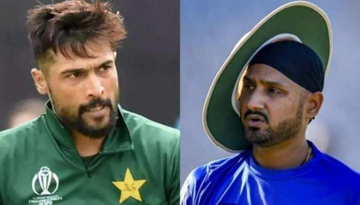 पाकिस्तानी बॉलर मोहम्मद आमिर पर फिर भड़के हरभजन, इमरान खान को दे दी ये नसीहत