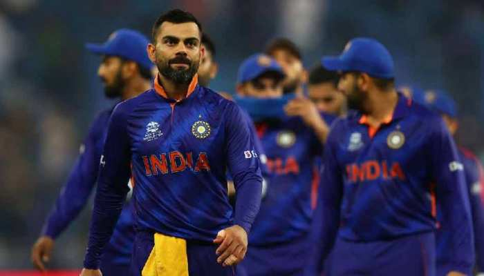 Team India done hardwork to defeat New Zealand photos surfaced MS Dhoni Virat kohli Hardik Pandya fitness