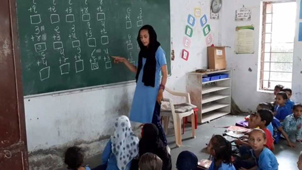 Surat: In this school, children of 8th class teaches the 5th class students