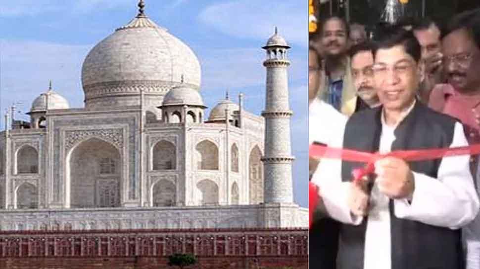 Agra: New Taj Mahal View Point built in Mahtab Bagh