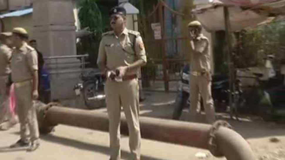 In varanasi Hindu Yuva Shakti Sangathan did ruckus in church