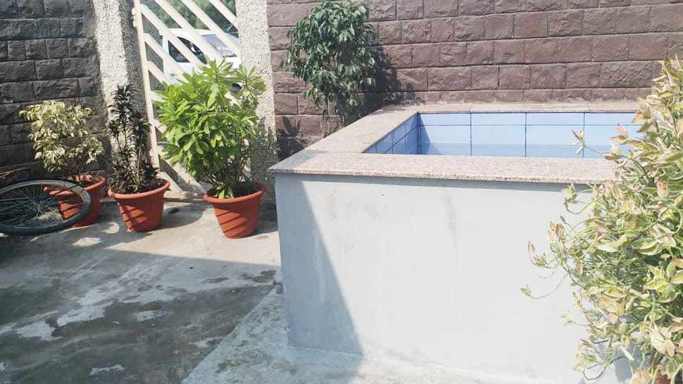 water tank in BJP office